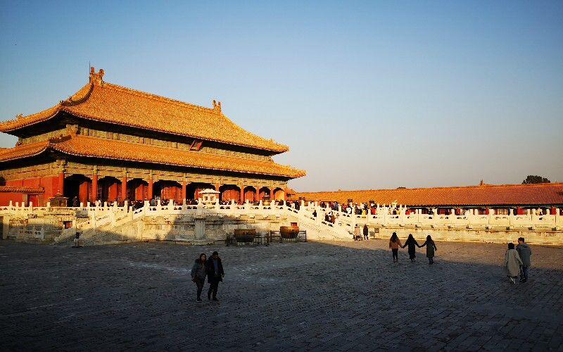 Beijing Forbidden City Map
