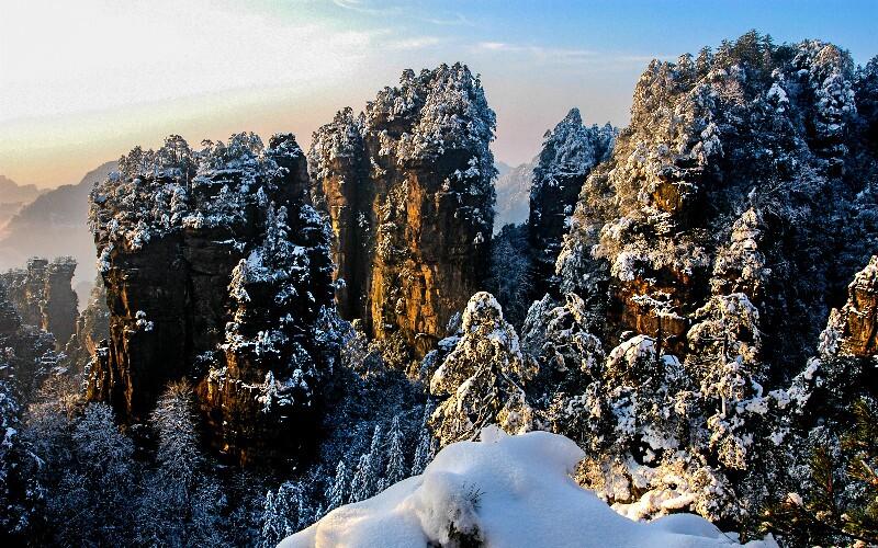 Zhangjiajie Weather in December