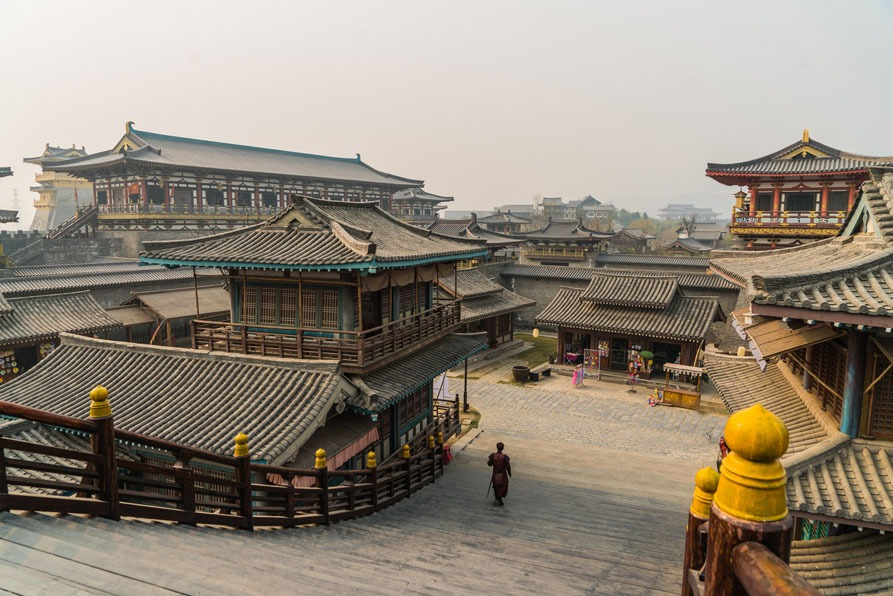 mulan filming location:Imperial City