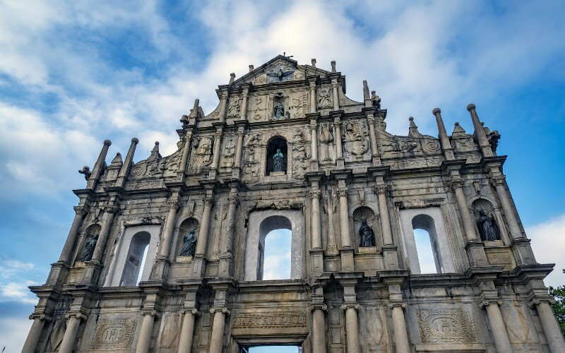Sightseeing around Macau