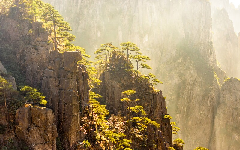 Huangshan Weather in April