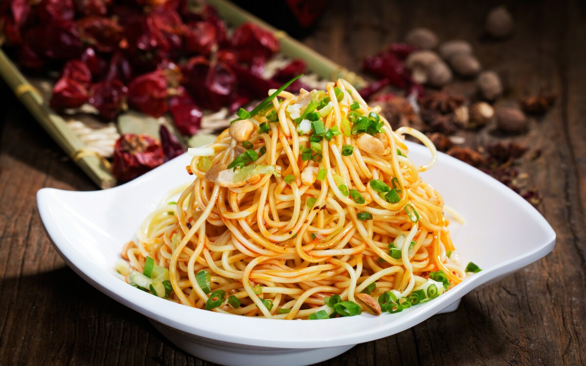 Noodles are eaten throughout the country