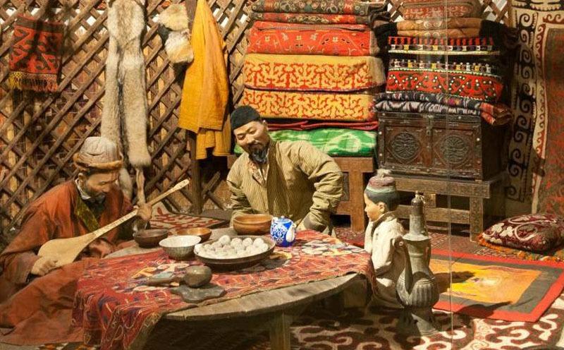 The Chinese Kazak Ethnic Minority, History and Customs of Kazak People