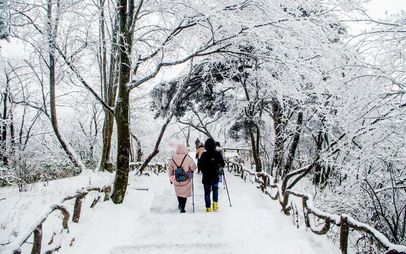 Huangshan Weather in December