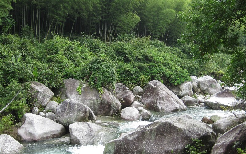 Lianghuang Mountain Scenic Area