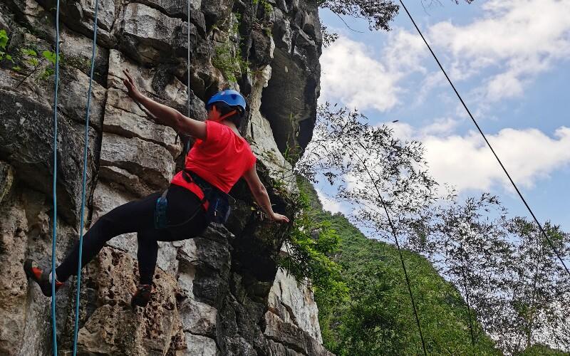 Rock Climbing in Yangshuo, Guilin