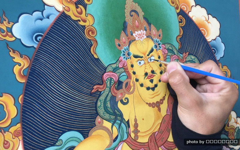 Ganden Thangka Festival in 2020