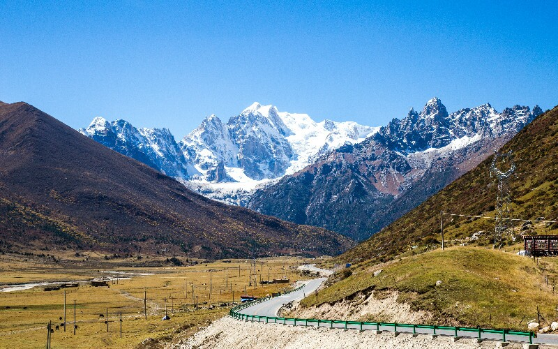 The Jiaozi  Snow Mountain