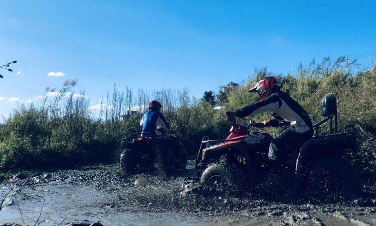 ATV experience in Cangshan Shimenguan Scenic Area