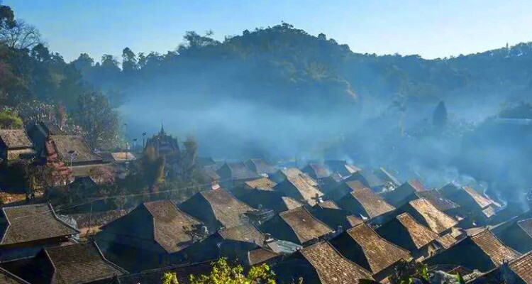Nuogang Village in Xishuangbannan