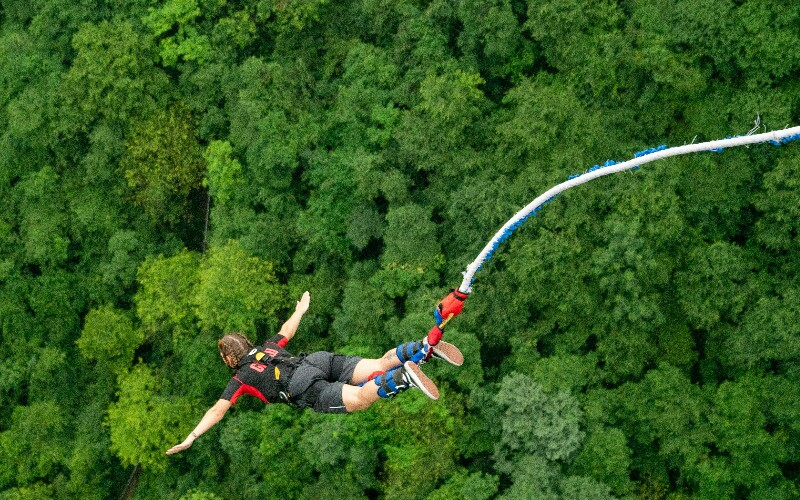 6 Best Sites for Bungee Jumping in Beijing