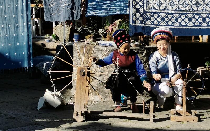 Bai Minority of China