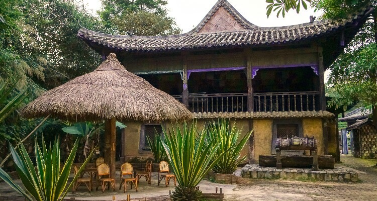 Dai House in Xishuangbanna