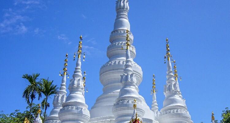 White Bamboo Shoot Pagoda