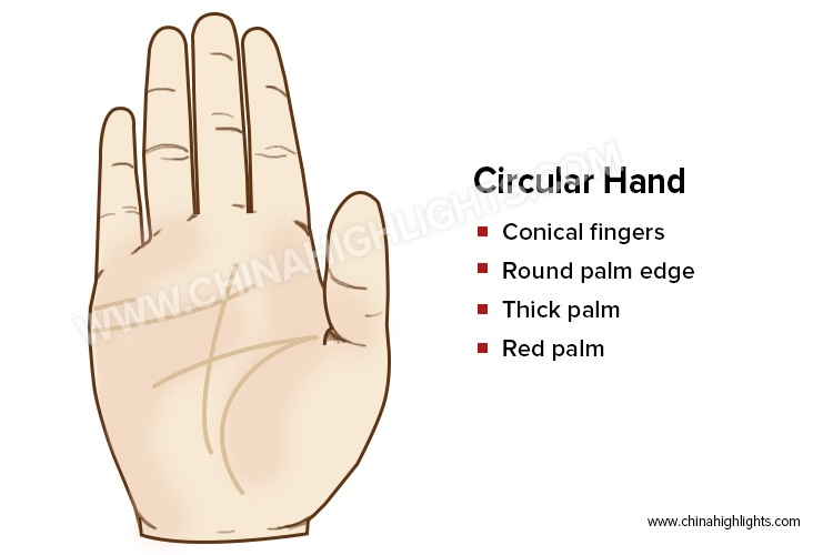The Circular Hand in Palm Reading