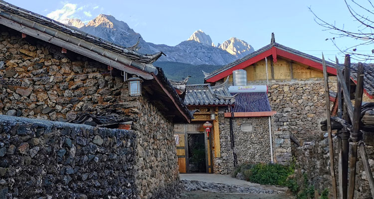 the naxi houses