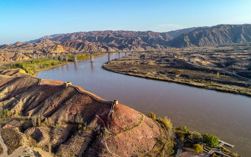 """The Yellow River — """"Mother River of China"""""""