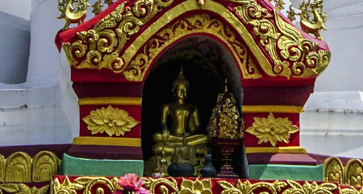 Buddha Statues in the Niches
