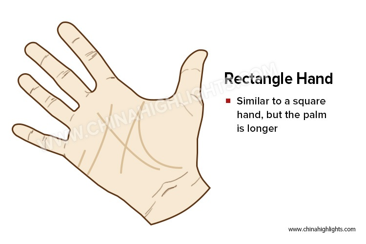 The Rectangle Hand in Palm Reading