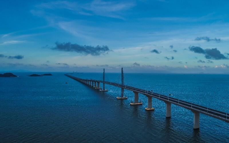 The Hong Kong – Zhuhai – Macau Bridge