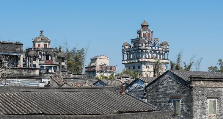 Kaiping diaolou villages