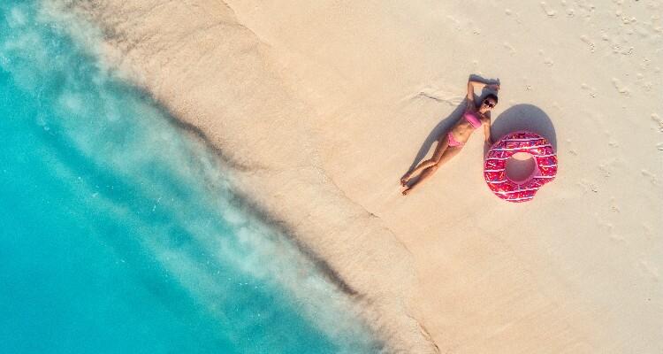 Sanya's beautiful beach