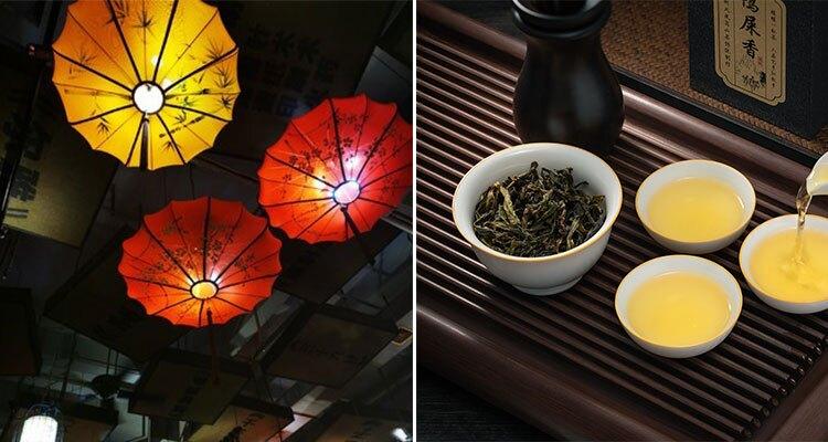 Cantonese morning tea