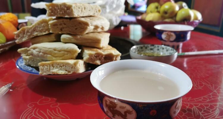 Tibetan snacks