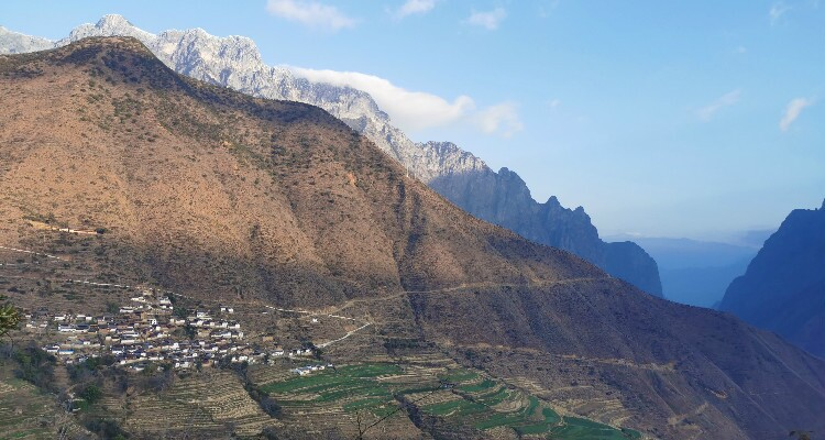 village on the mountain