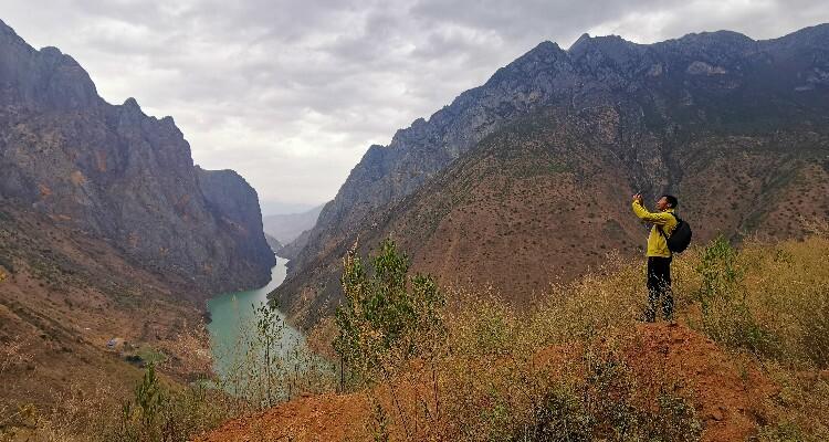 great view of the Jinsha River