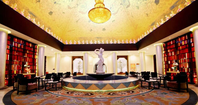 Dunhuang Hotel lobby