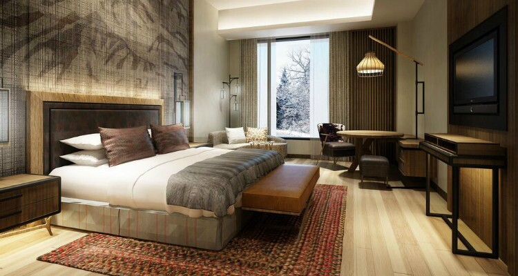 Bedroom of Changbai Crown Plaza Hot Spring Hotel