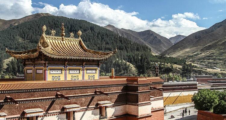 Labrang Monastery in Xiahe