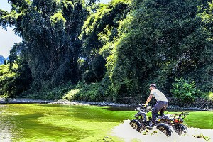 drive with an all-terrain vehicle