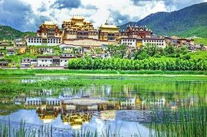 Songzhanlin Monastery in Shangri-La
