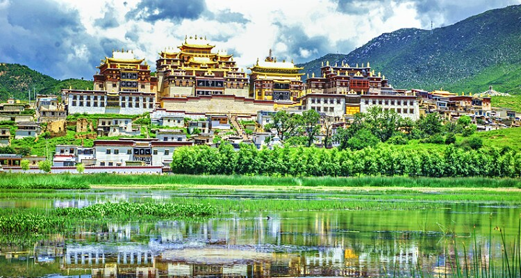 Songzanlin Monastery in Shangri-La