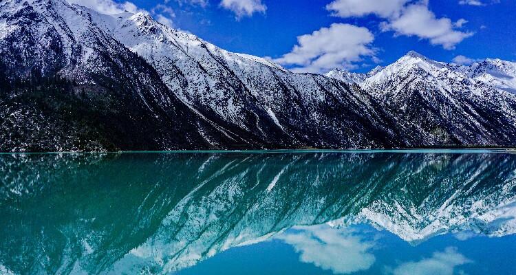 blue Ranwu Lake
