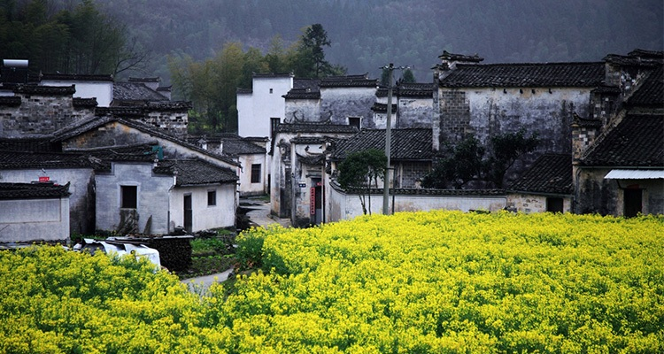 the typical Hui village