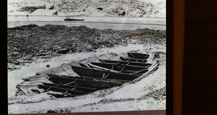 The excavation site of an ancient ship in Quanzhou