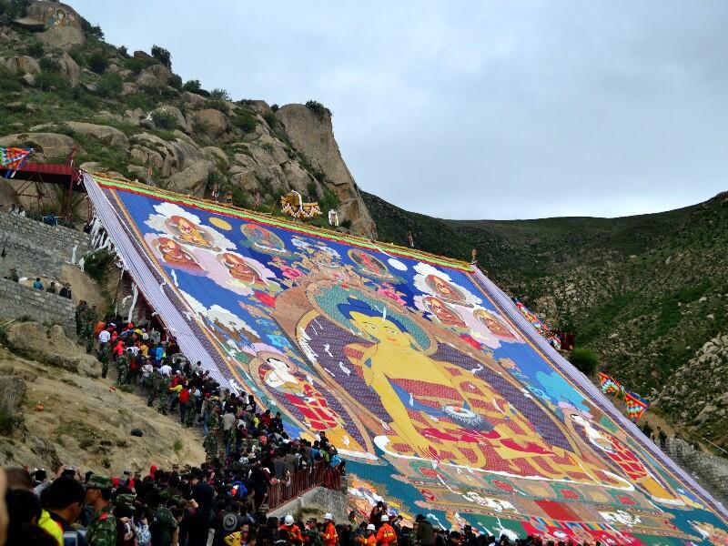 Tibet Shoton Festival