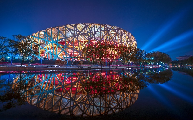 Beijing National Stadium — the Amazing Bird's Nest Stadium