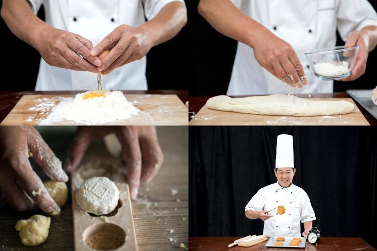 Making Mooncakes on Mid-Autumn Festival