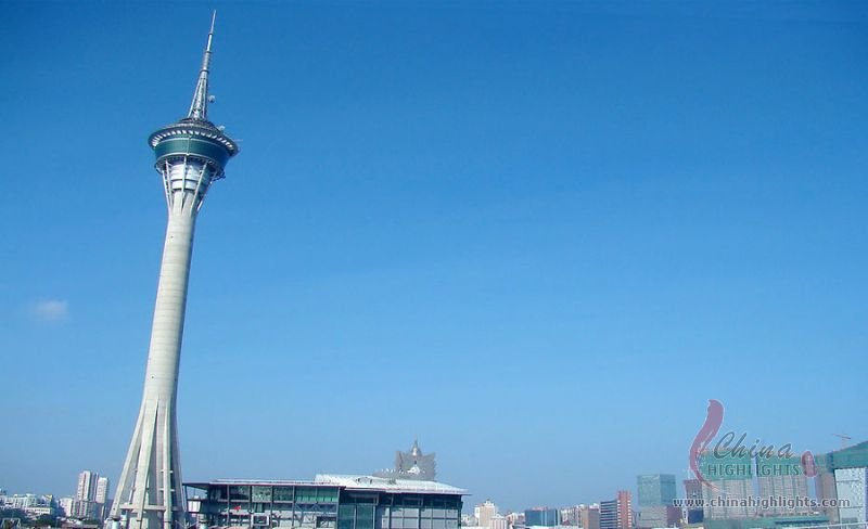 Macau Tower Tallest Building In Macau
