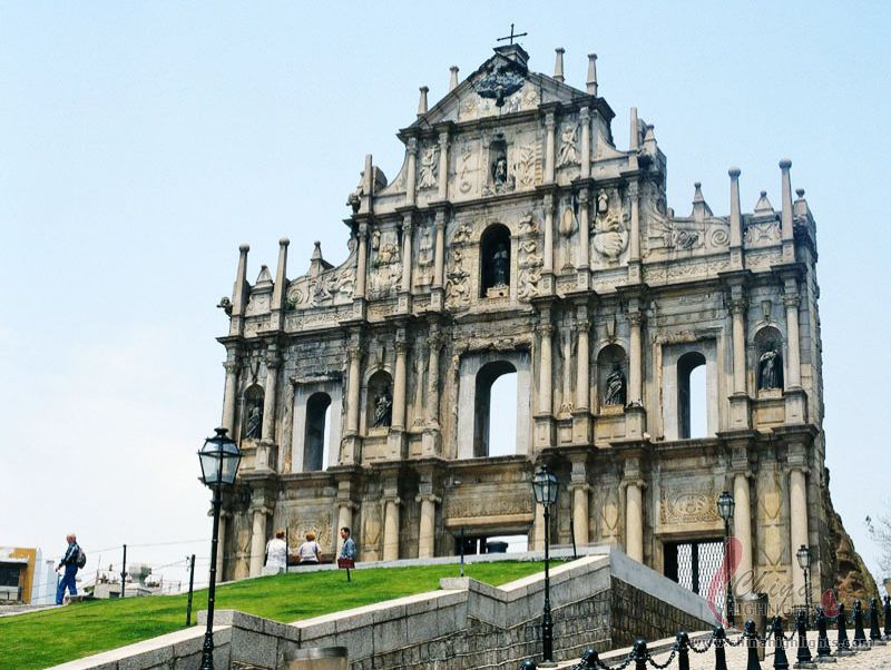 Image result for st pauls ruins macau