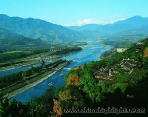 Dujiangyan Irrigation Project Chengdu China