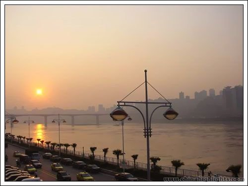 Chongqing sunset