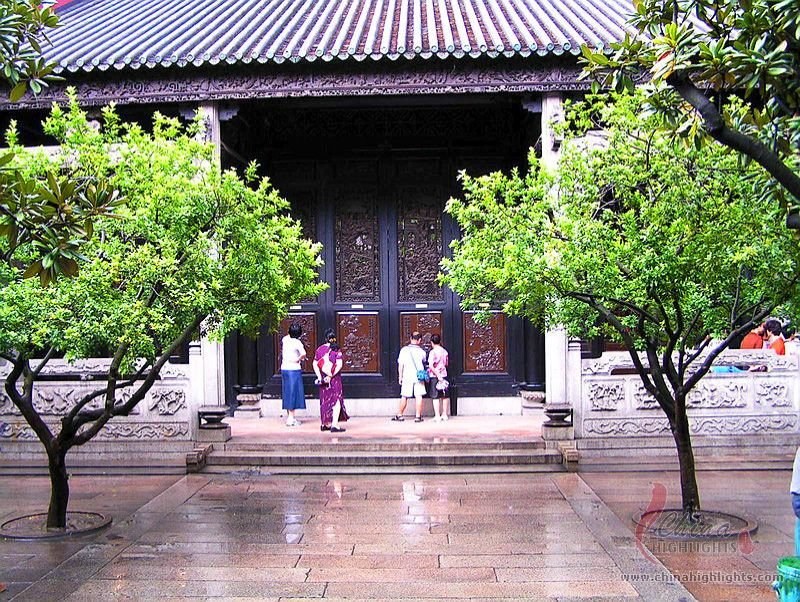 Guangzhou Chen Ancestral Shrine A Traditional Chinese