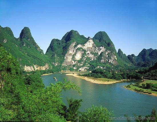 Nine Horse Fresco Hill by the Li River