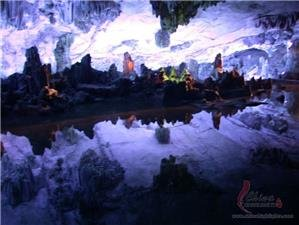 Guilin Reed Flute Cave Lu Di Yan Largest Karst Cave In