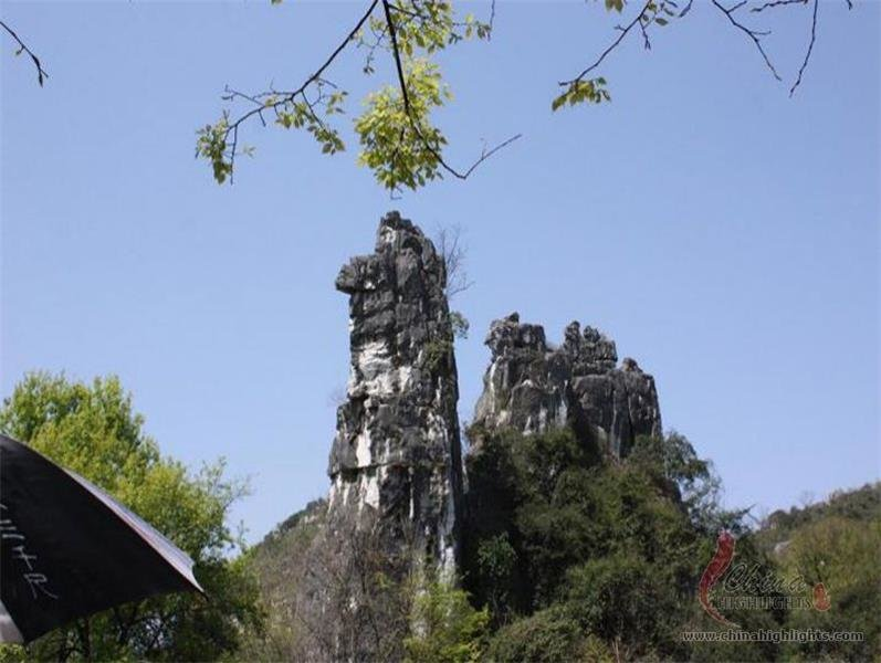 Camel Hill inside Seven Star Park in Guilin